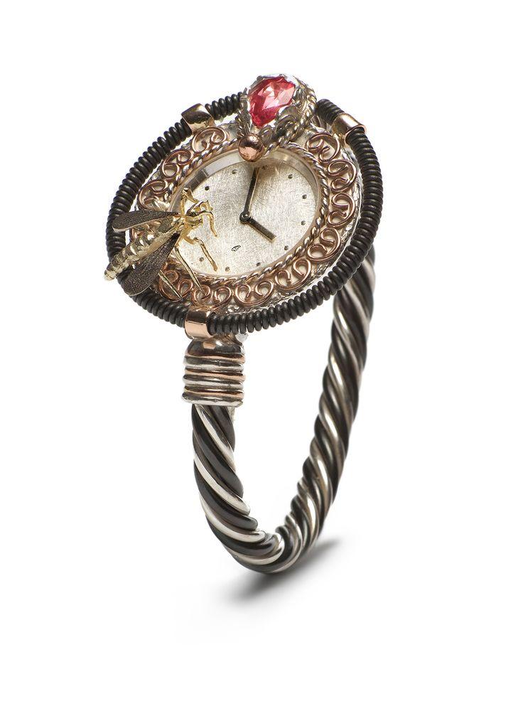 Diamond Point Steampunk horloge