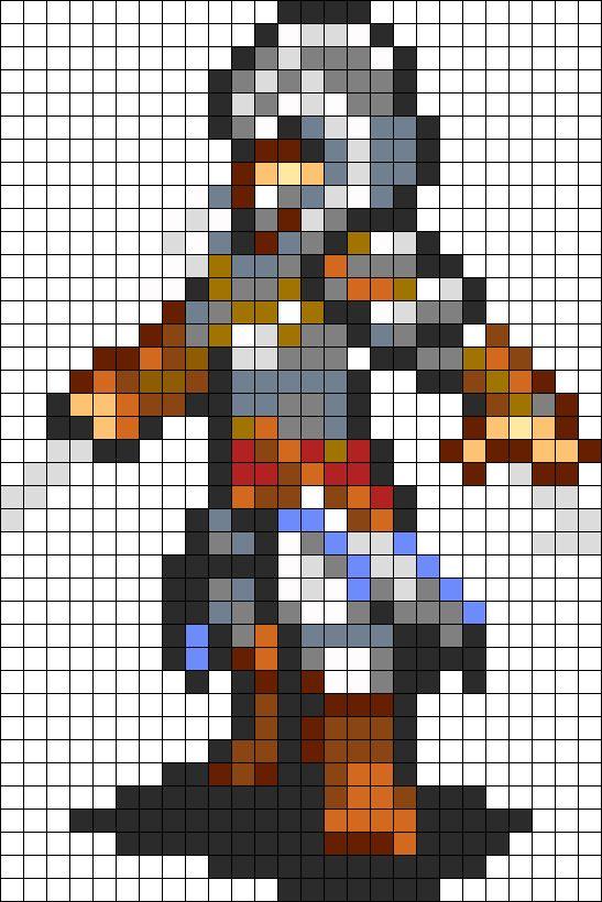 Ezio Revelations Bead Pattern Awesome Perler Patterns