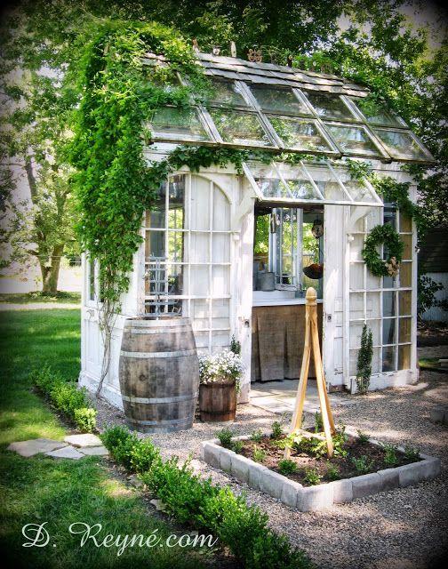salvaged greenhouse