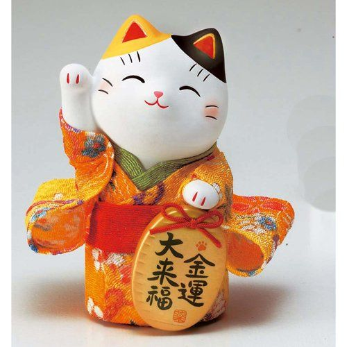 Japanese lucky cat - 招き猫