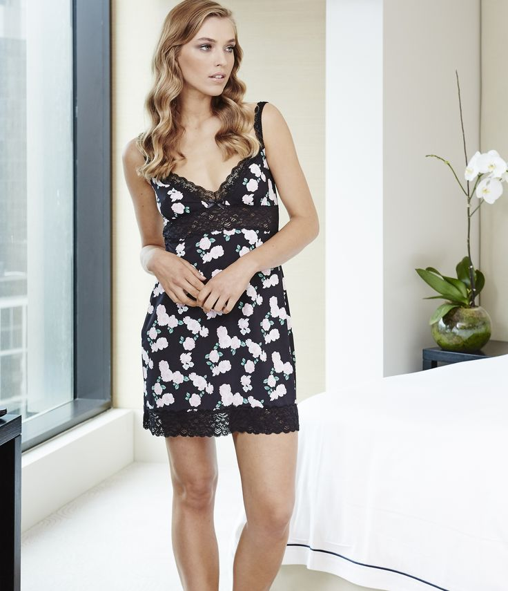 Amber chemise - available now at gignerlilly.com.au fun slinky nightie that will be a perfect fit
