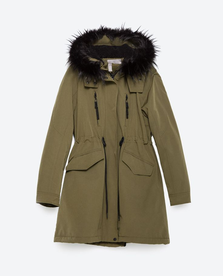1000  images about PARKA on Pinterest | Quilted jacket Zara and