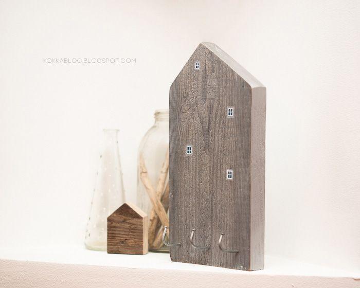hanger, natural old wood