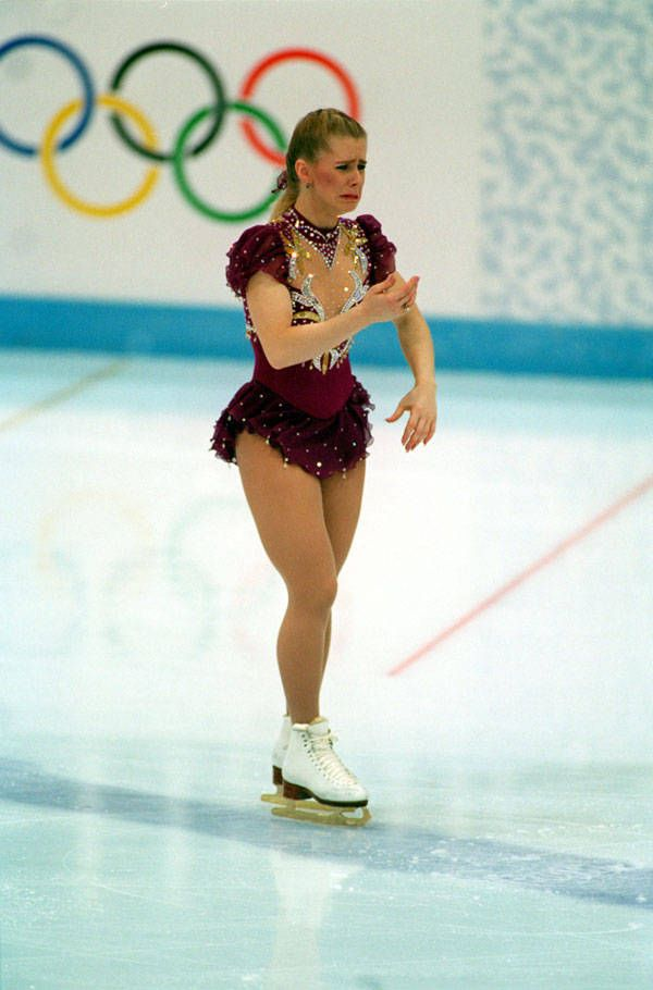 the infamous Tonya Harding, 1994