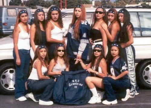 90's cholas | Chicano Culture | Pinterest | My Generation