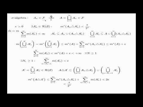 Lebesgue measure extension, part 2 of 4