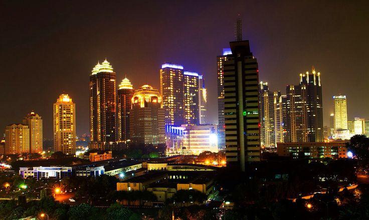 Jakarta, the crowded city