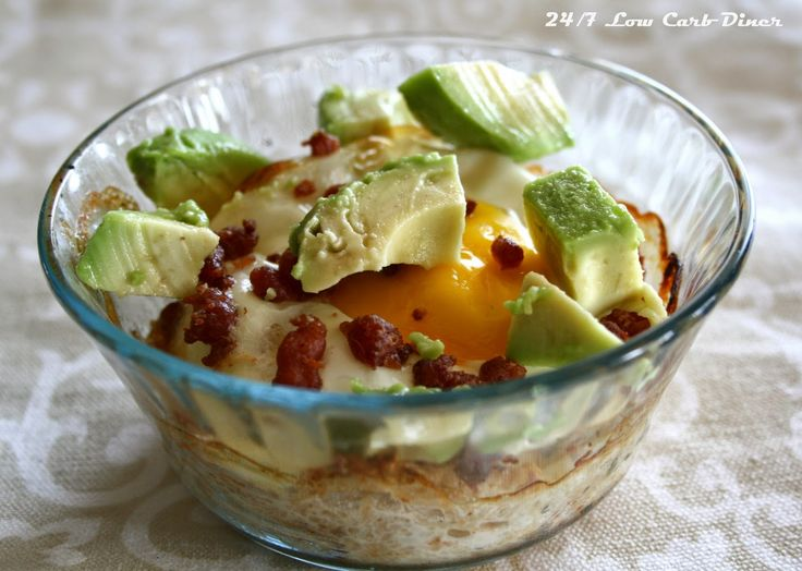 24/7 Low Carb Diner: Mexican Breakfast Bowls