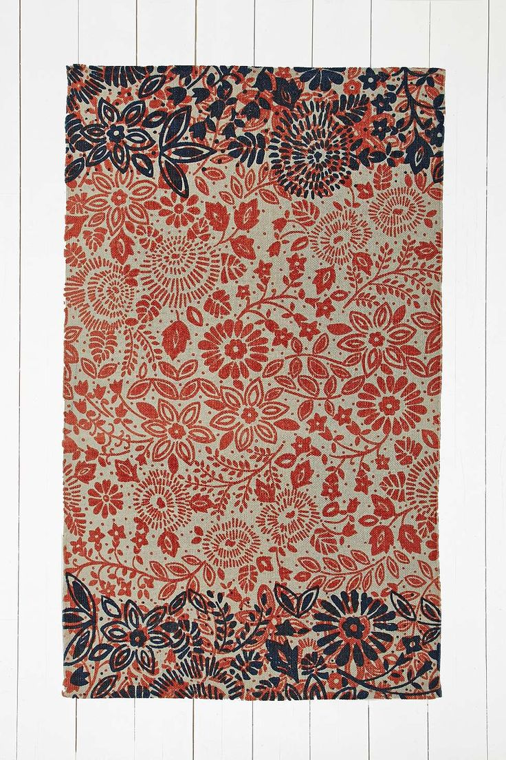 annalise 3x5 rug in orange