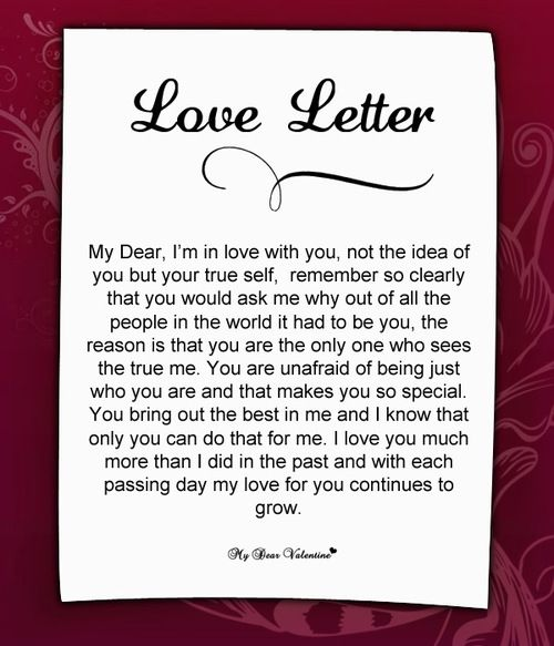 best love letter to propose a girl