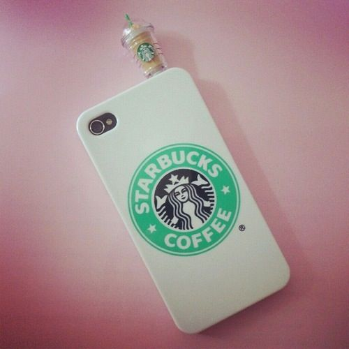 I would have this Starbucks case on all the time☕️ #whitegirlprobs #whitegirl
