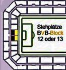 #Ticket  Südtribüne SUPERCUP Karten BVB Borussia Dortmund  FCB FC Bayern München Tickets #deutschland