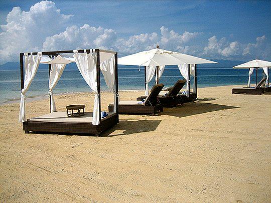 misibis bay resort, cagraray island, legazpi, albay, philippines.