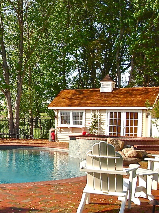 Pool HouseGuest House, Outdoor Patios, Outdoor Spaces