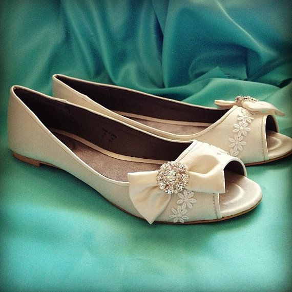 1000 Ideas About Ballet Flats Wedding On Pinterest