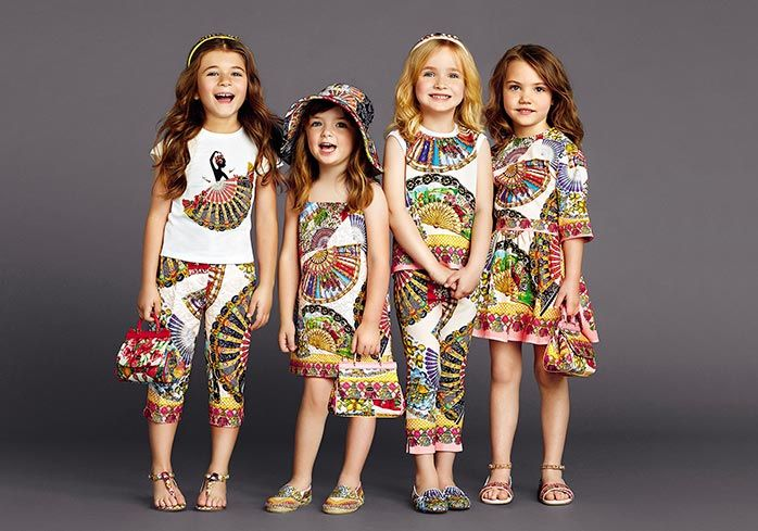 dolce and gabbana summer 2015 child collection 14