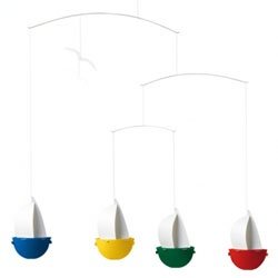 cute for a sailboat themeFlensted Sailfun, Flensted Mobiles, Mobiles Sailfun, Kids Room, Click A Mobiles, Room Ideas, Sailing Fun, Baby Boys Room, Sailfun Mobiles