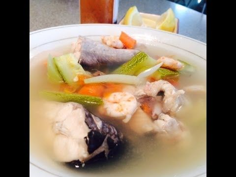 Caldo de pescado con camaron how to mexican latin for Mexican fish soup recipe