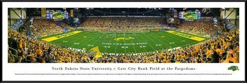 North Dakota State University Framed Panoramic Photo