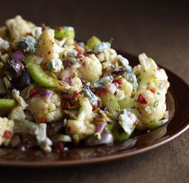 Lovely Italian Winter Cauliflower Salad  - Foodista.com