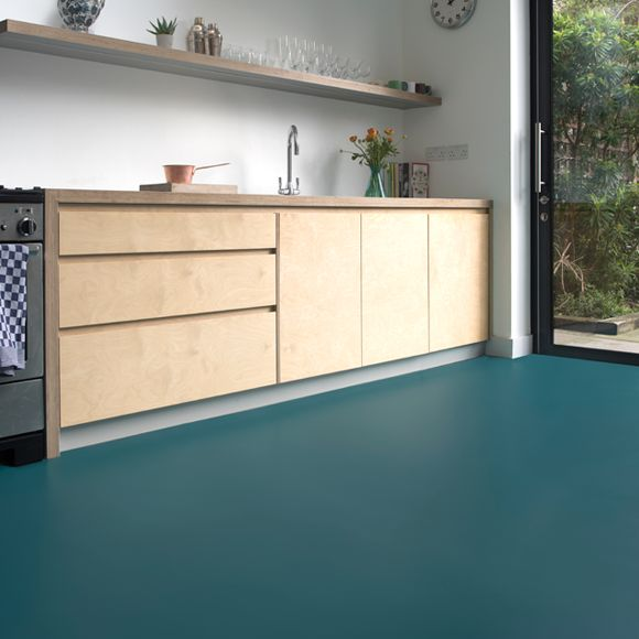 green vinyl flooring, A teal green blue vinyl flooring in 2019 Vinyl flooring