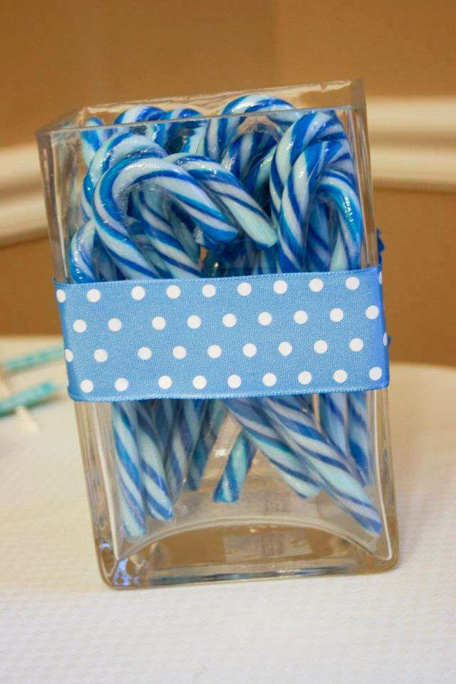 Winter Wonderland Snowflake Baby Shower Party Ideas | Photo 1 of 26 | Catch My Party