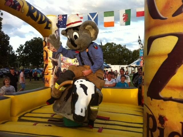 120 rides and amusements will be available at Newcastle Show 2015, including a jumping castle! www.newcastleshow.com.au.