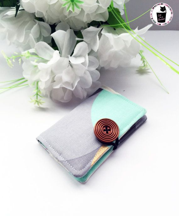 Handcrafted card holder perfect for business cards, credit cards or anything you'd like!