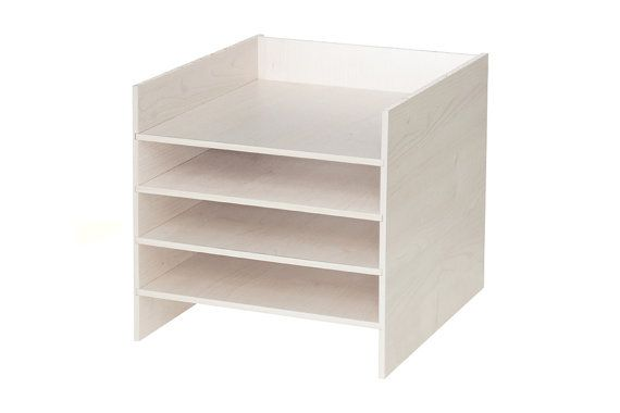 P.o. box shelf insert for IKEA Kallax shelf / Birch