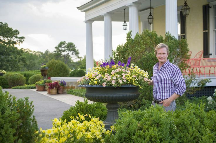 WATCH: 5 simple tips from P Allen Smith on creating beautiful container gardens for your home.    @Wanda Beckwith Winners Plants