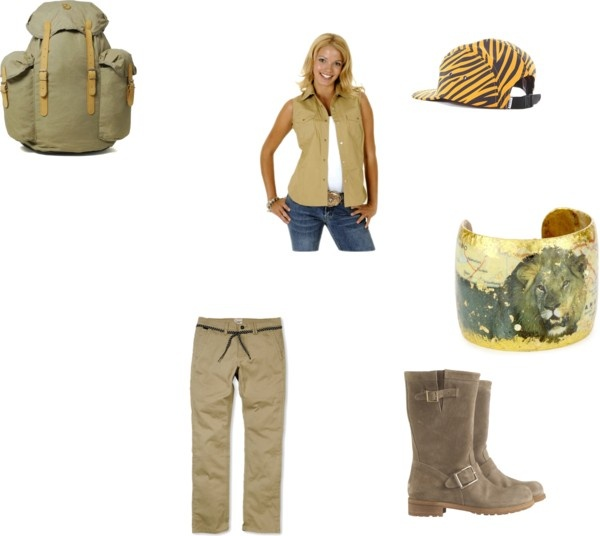 safari by nymphadora-tonks1998 liked on Polyvore