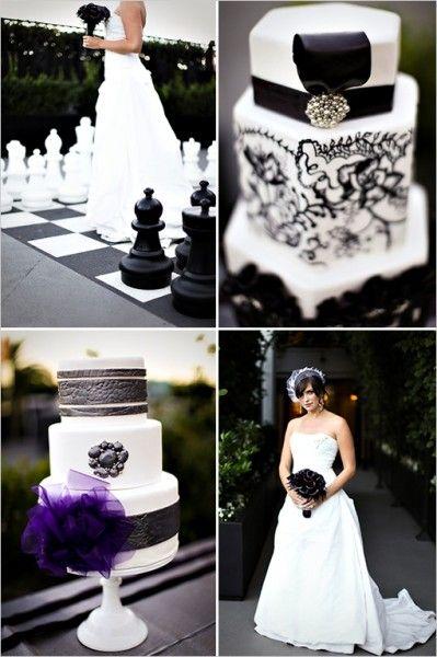 mariage baroque idée planche inspiration déco originale noir blanc ivoire Carnet d'inspiration mariage Mademoiselle Cereza