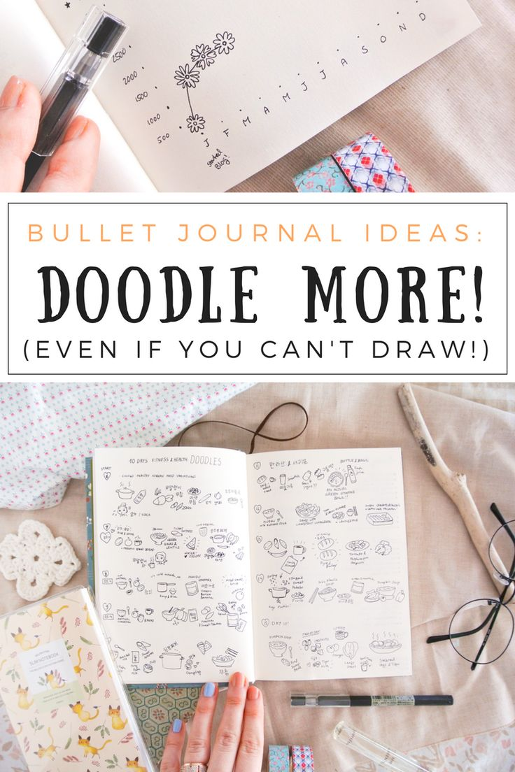 Drawing tiny doodles in my bullet journal is such a fun way of keeping memories, gratitude logs, food diaries, or travel impressions alive! Even if you can't draw, a lot of these doodle art ideas are incredibly simple and beginner friendly. All my spreads of the month and lots of creative ideas are up on the blog!