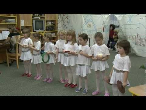 Vánoční besídka u Motýlků 2012 - YouTube