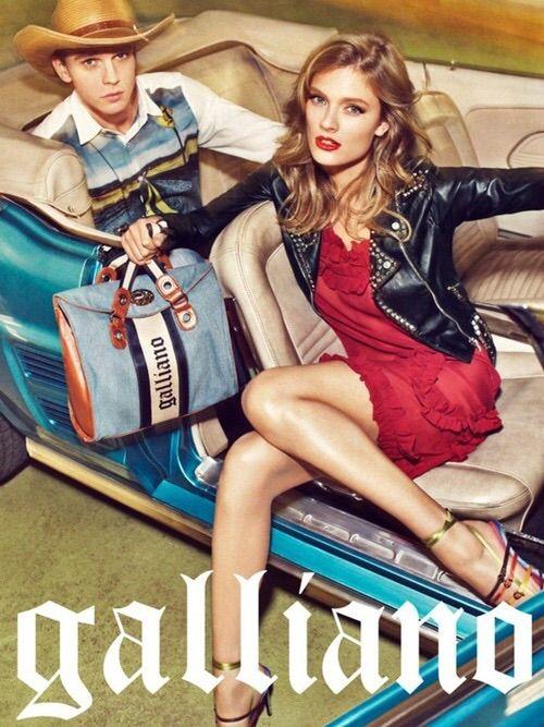 Image via We Heart It #editorial #fashion #galliano #sebastiankim