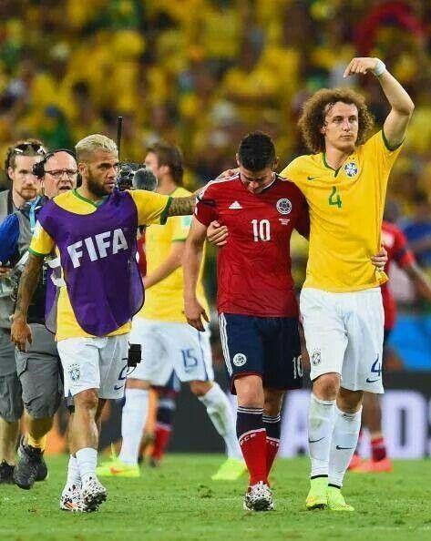 Brazil vs Columbia Quarter finals World Cup 2014