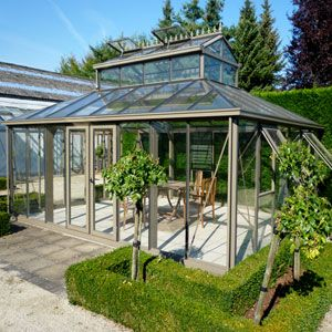 Janssens Cathedral Greenhouse Hobby Greenhouses