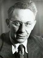 Tadeus Reichstein (1897-1996). Professor für Chemie. Nobelpreis für Medizin. Porträt aus dem Bildarchiv der ETH-Bibliothek.