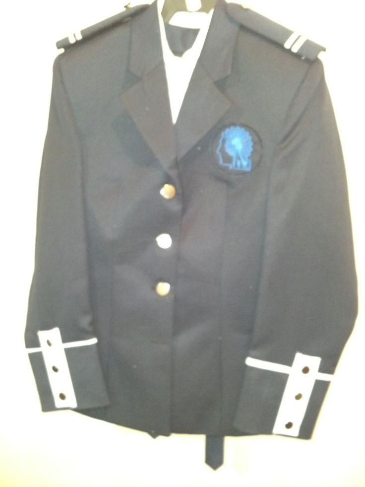 uniforme militar para escolta de bandera