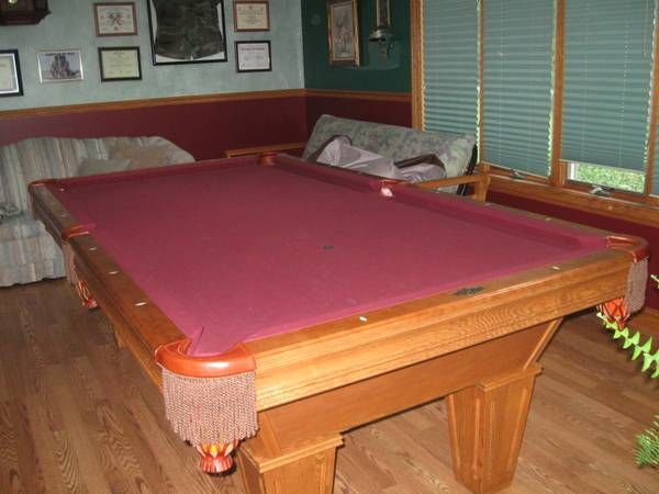A5 Brunswick Pool Tables For Sale, SOLD
