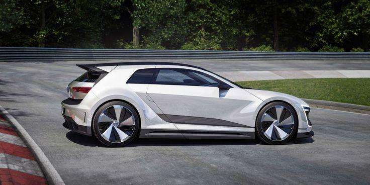 Golf GTE Sport Coupé Concept le renouveau chez Volkswagen  #design #car #voiture…