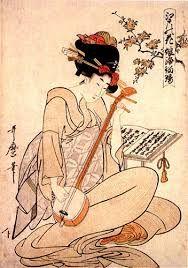 Risultati immagini per dipinti giapponesi fiori