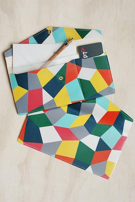 Buy Delfonics - Quitterie Mosaic Envelope Case - Multicolour - NoteMaker Stationery. NoteMaker.com.au
