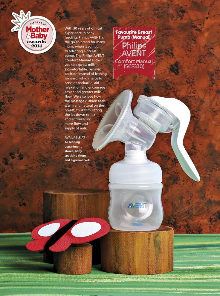 Favourite Breast Pump (Manual): Philips AVENT - Comfort Manual (SCF330)