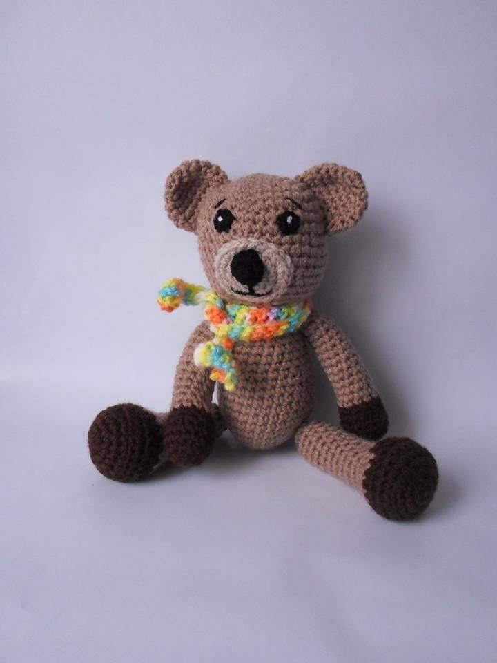 Excited to share the latest addition to my #etsy shop: Bear Amigurumi Crochet Stuffed Toy http://etsy.me/2n5XDAx #toys #brown #bear #crochet #handmade #cute #unique #toy #child
