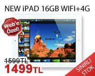 Darty Günün İndirimli Ürünü:YENİ iPAD 16GB WIFI 4G