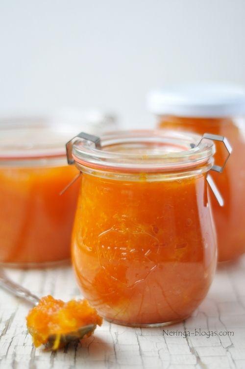 Pumpkin-orange jam