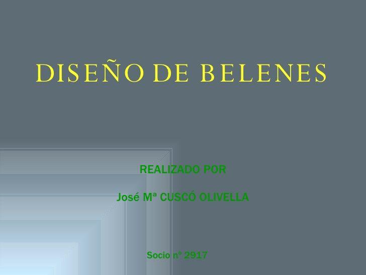 Diseno De Belenes 1