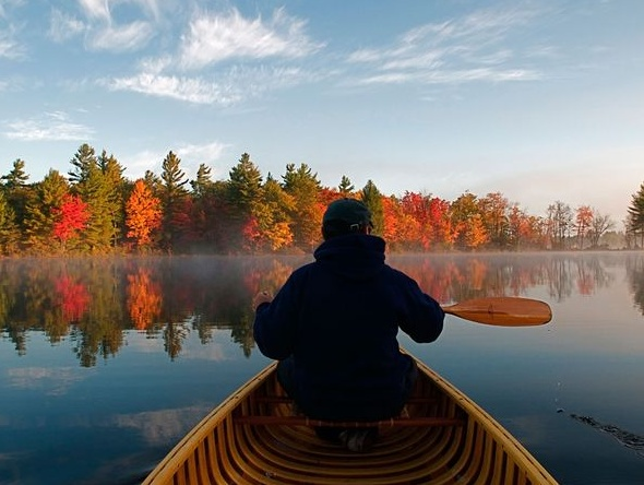 Muskoka. 2,500 sq. miles, 8,699 miles of shoreline, 17 historic towns, innumerable waterfalls + lakes (Kahshe Lake, above), Algonquin Prov. Park to the east + Georgian Bay Islands to the west.