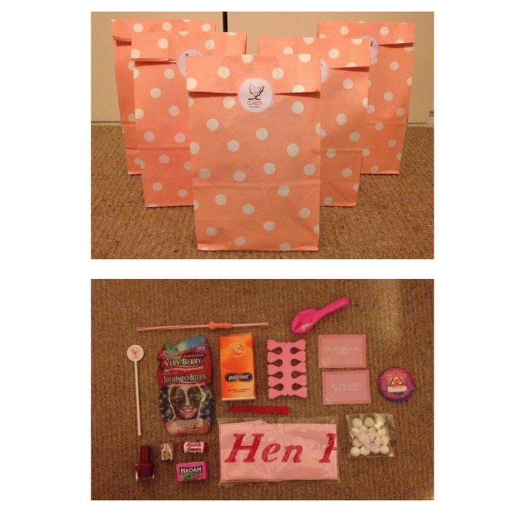 Personalised Hen Do Party Bags!